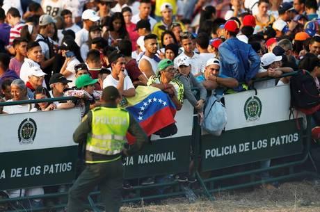 Venezuela Aid reúne multidão na Colômbia