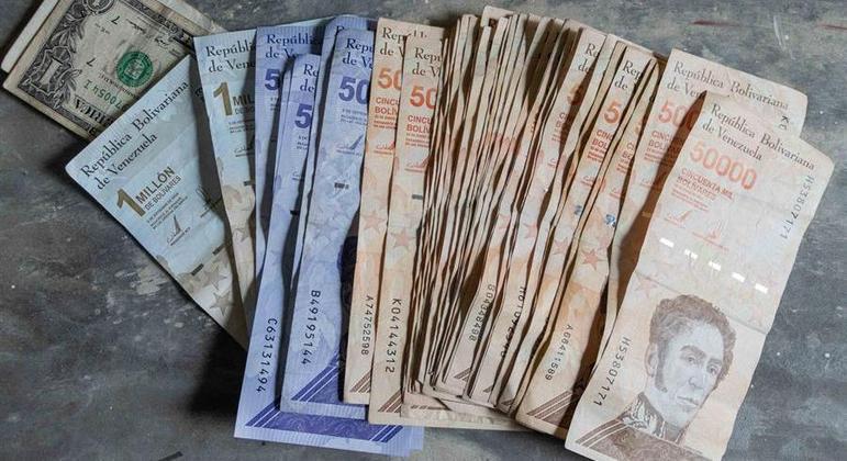 Banco Central da Venezuela anunciou uma nova série de moedas