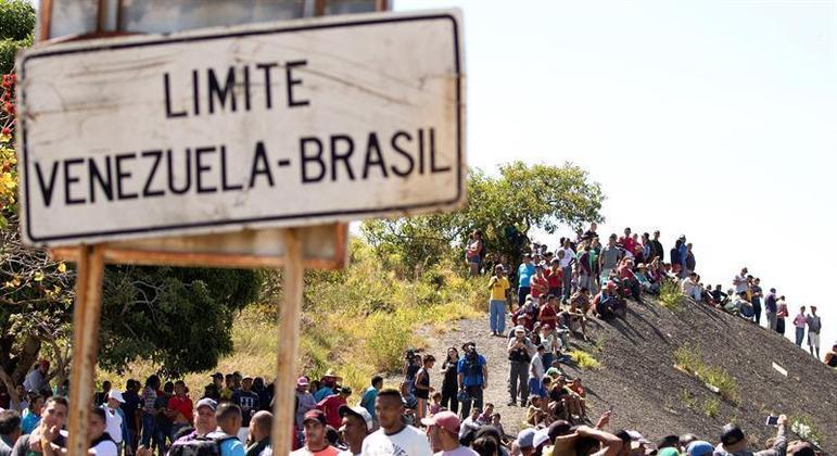 Desde o início, em 2018, 265 mil venezuelanos ingressaram no Brasil