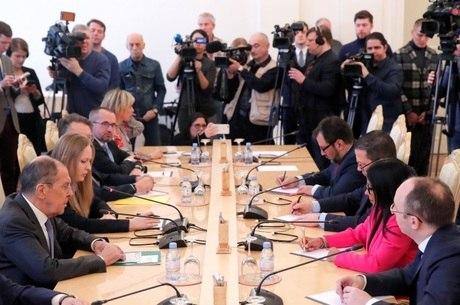 Rússia garantiu que impedirá intervenção na Venezuela