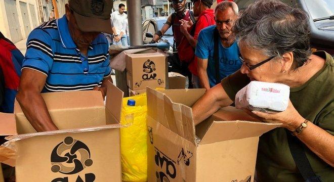 As cestas e caixas CLAP distribuídas pelo governo não estão conseguindo resolver o problema alimentar da Venezuela