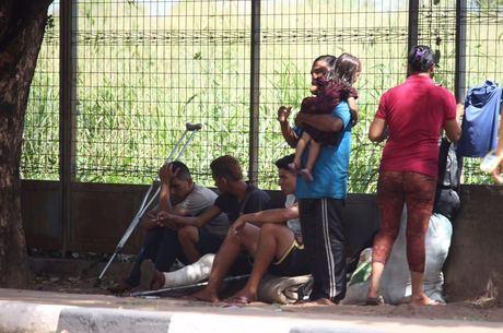 Venezuelanos entraram nas estatísticas desta quarta
