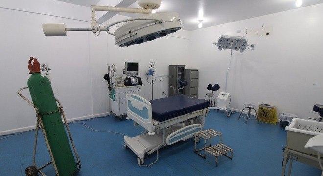 """""""Centro cirúrgico"""" foi transformado em sala de partos"""