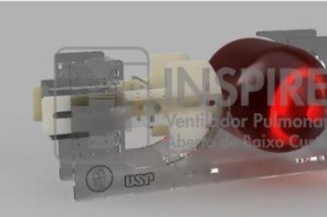 Ventilador USP é construído com baixo custo