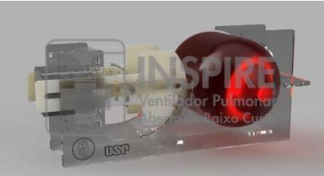 Ventilador pulmonar da USP é construído com baixo custo e em menos de 2 horas