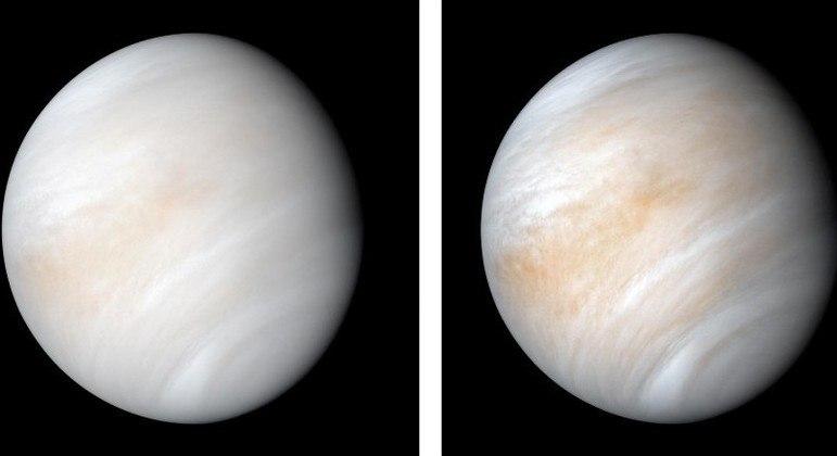 Vênus tem 100 vezes menos água nas nuvens do que a Terra