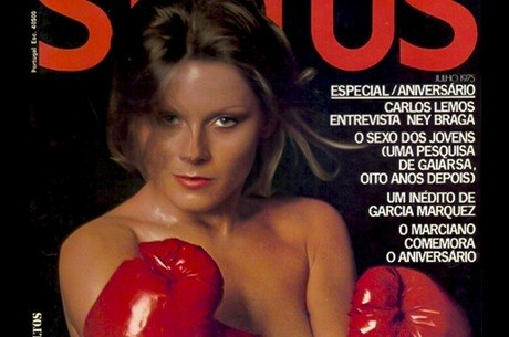 Atriz foi capa de revista em 1974