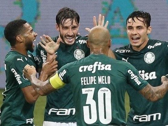 Verdão alcançou marca na goleada contra o Bolívar. Veja o Top10 dos marcadores, com número de jogos e média de gols. (Por: Nosso Palestra)
