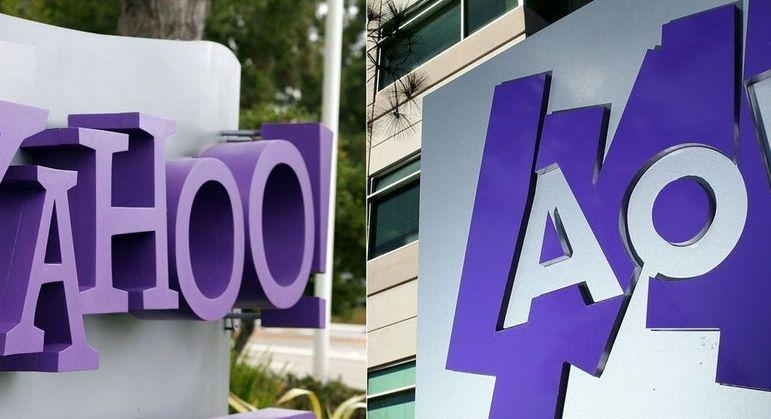 Yahoo e AOL são dois nomes históricos no advento da internet dos anos 1990 e 2000