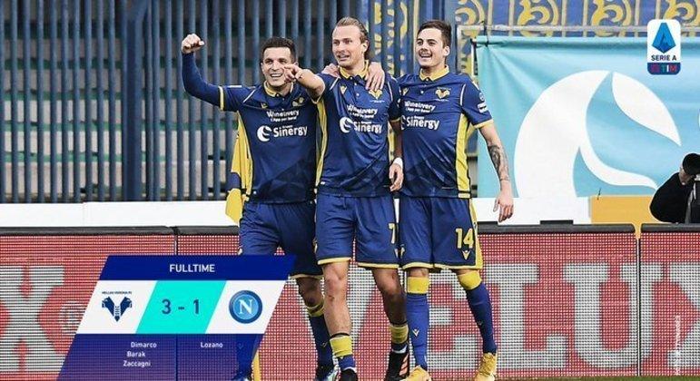 """Verona, a virada depois de sofrer um gol com menos de 10"""""""