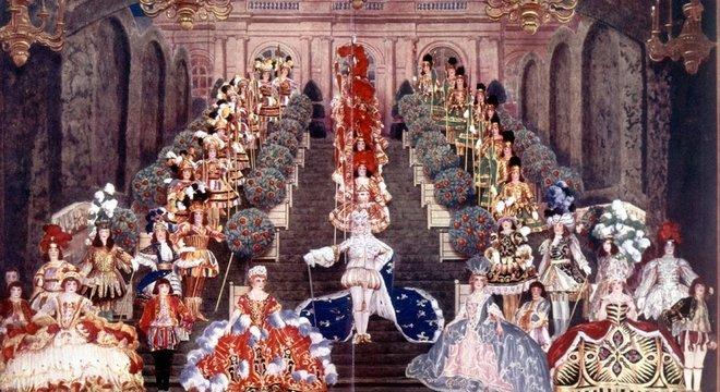 Na corte de Versalhes, havia pouca chance de a burguesia estar lado a lado com a aristocracia