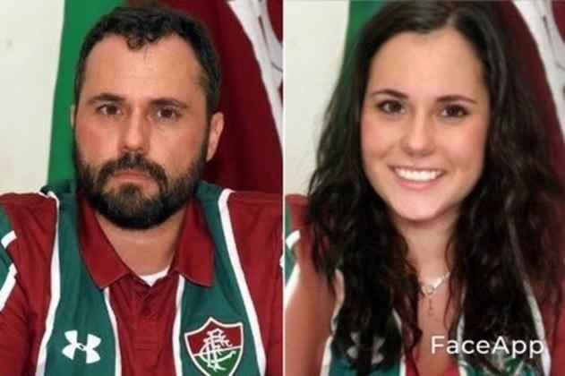 Versão feminina de Mário Bittencourt, atual presidente do Fluminense