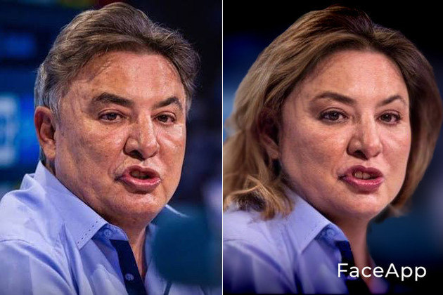 Versão feminina de Zezé Perrella, ex-presidente do Cruzeiro