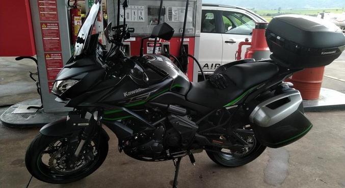Kawasaki Versys 650 Tourer apesar da idade do projeto, ainda é uma boa opção