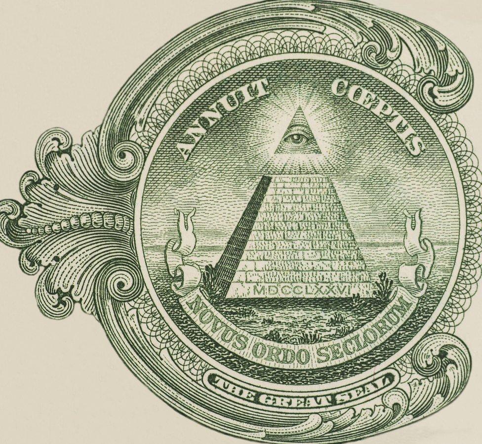 Verso do Grande Selo dos Estados Unidos