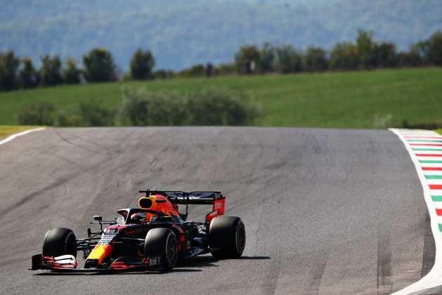 Verstappen fechou o dia com a terceira melhor marca: 1min17s235 (Foto: Getty Images/Red Bull Content Pool)