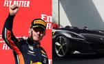 Verstappen, Ferrari