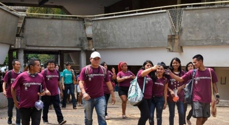 ISPN e mineradora Vale concedem bolsas de estudos para alunos indígenas