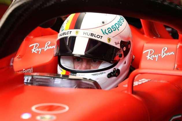 Vettel foi prejudicado por um atrpalhado pit-stop durante a corrida no circuito italiano