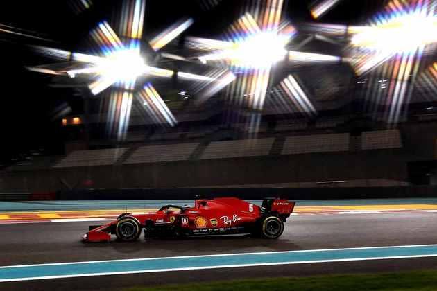 Vettel também não se recuperou da má classificação.