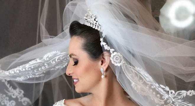 Véu de noiva- Origem, tipos e imagens para você se inspirar