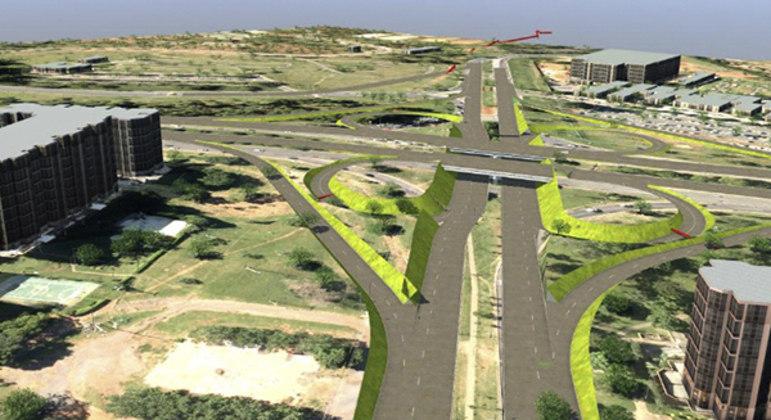 Viaduto da Epig vai ligar o Sudoeste ao Parque da Cidade
