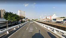 Perseguição no centro de São Paulo provoca acidente e bloqueia via