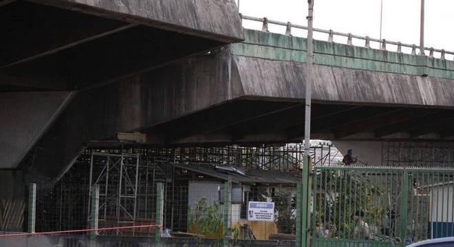 Viaduto na Marginal Pinheiros cedeu em novembro de 2018