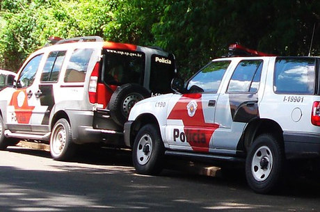 Carros da Polícia Militar do Estado de SP