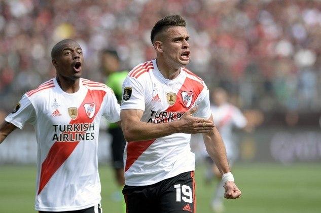 Vice-campeão em 2019, o River Plate também foi mencionado 18 vezes entre os favoritos para conquistar o título da Libertadores de 2020.