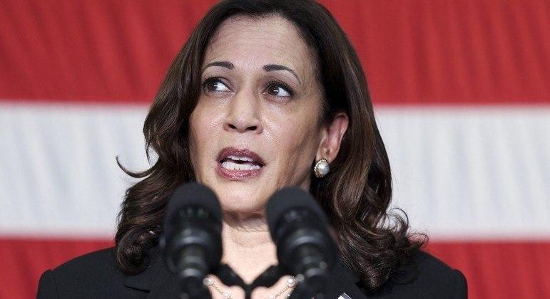Vice-presidente dos Estados Unidos, Kamala Harris