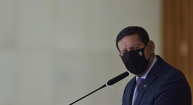 Vice-presidente Hamilton Mourão, que apresentou medidas para Amazônnia