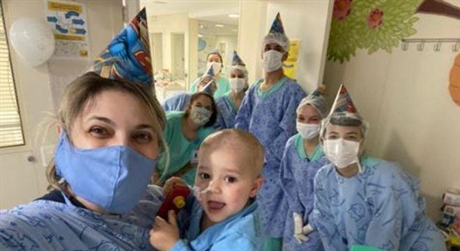 Vicente contraiu a Covid-19 um dia depois de passar por um transplante de medula