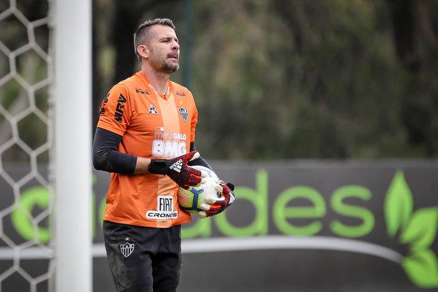 Victor - 38 anos - Atlético-MG - Goleiro - Contrato até: 28/02/2021 - O goleiro é a terceira opção no Galo e tem futuro indefinido em Minas Gerais.