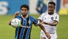 Grêmio marca no fim e busca empate com o Atlético-MG: 1 a 1