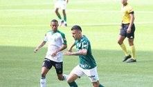 Palmeiras vence América e entra para o G-4 do Brasileiro