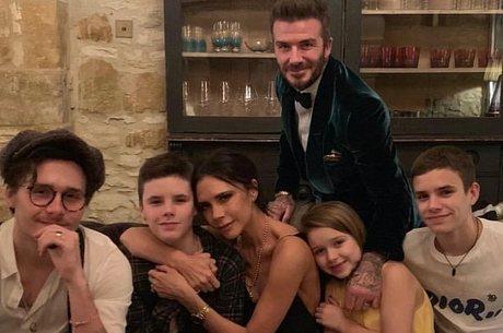 Apenas meninos da família Beckham têm dislexia
