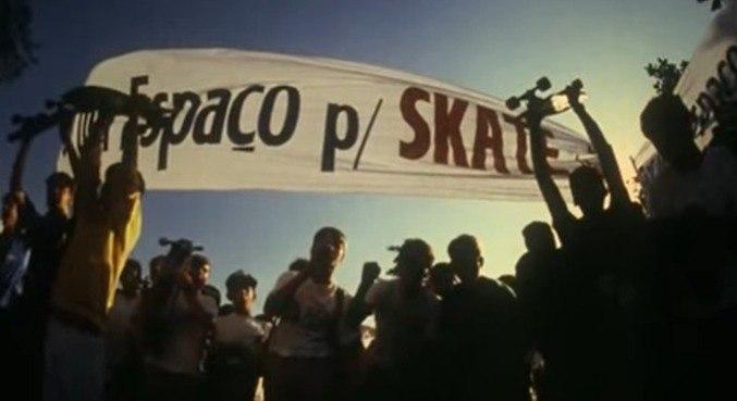 Skatistas se manifestaram contra veto de Jânio Quadros em 1988