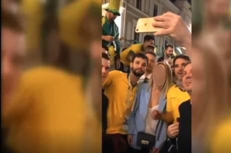 Torcedores brasileiros serão investigados por causa de vídeo