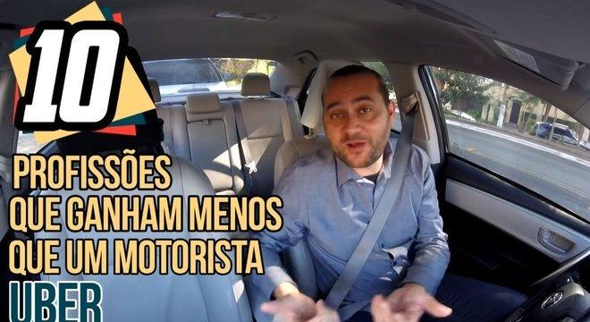 Em um de seus envios mais populares, Marlon Luz compara ser motorista de app com outros profissões