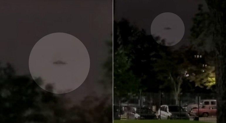 Vídeo compartilhado no YouTube mostra objeto escuro e estático sobre NY