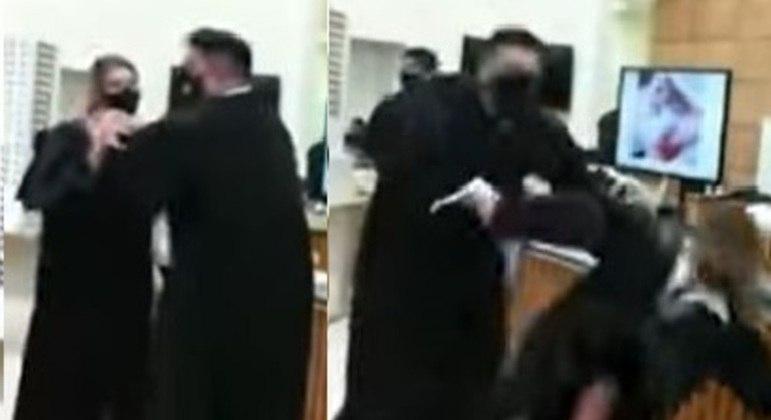 Defesa de Manvailer usa advogada para fazer simulação de agressão
