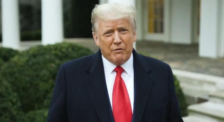 Em vídeo, presidente dos EUA disse que eleição foi fraudada