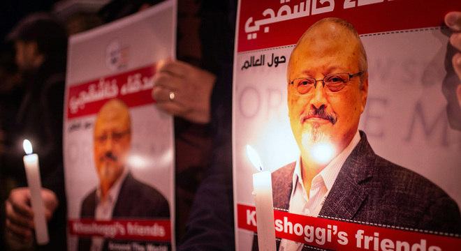Vigília por Kamal Khashoggi