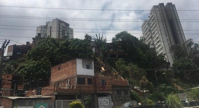 49% das casas da Vila Andrade são consideradas favelas