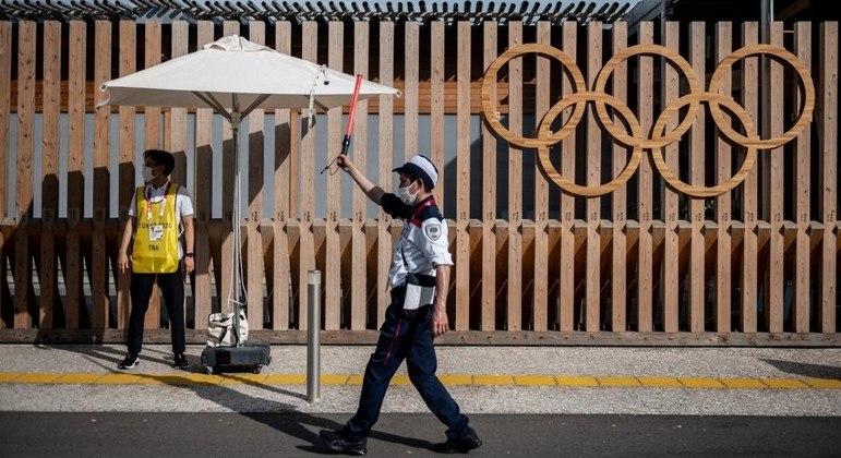 Caso aconteceu quando membro da delegação entrava na Vila Olímpica de Tóquio 2020