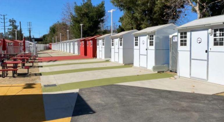 Vilarejo vai servir como moradia para moradores em situação de rua