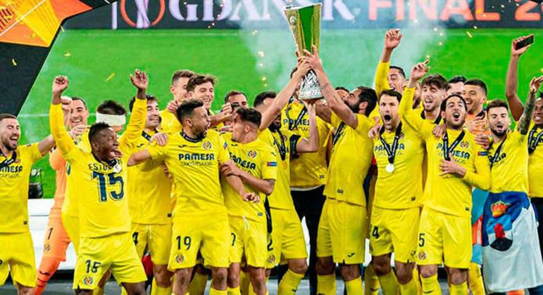 O Villarreal, campeão da Europa League de 2020/21