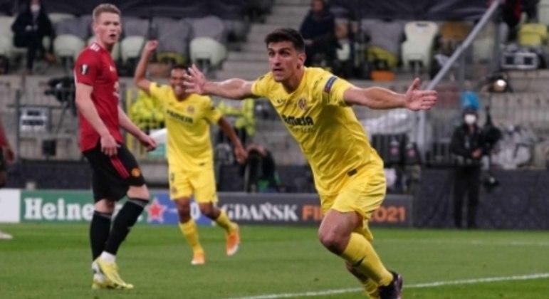 Villarreal x Manchester United - Final da Liga Europa - Gerard Moreno
