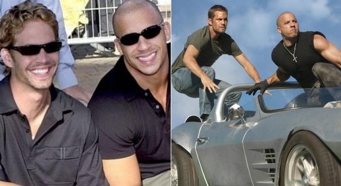 Próximo do fim da saga 'Velozes e Furiosos', Vin Diesel relembrou Paul Walker